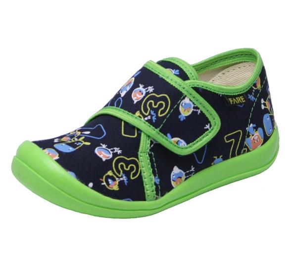 2a98f609ed FARE bačkory dětská domácí obuv suchý zip 4115408