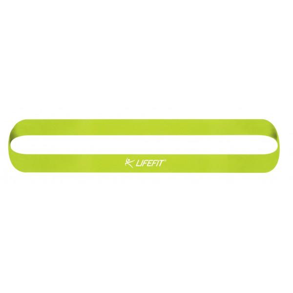 Posilovací guma LIFEFIT KRUH SOFT sv. zelená  1a2cd7a8db