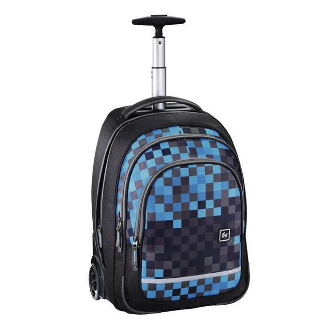 "All Out ""Bolton"" Trolley, Blue Pixel"