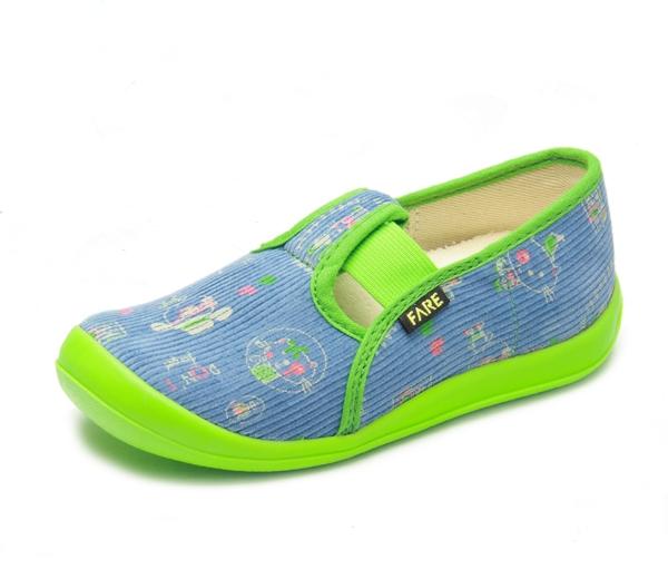 9f4f9db741a FARE bačkory dětská domácí obuv suchý zip 4115408