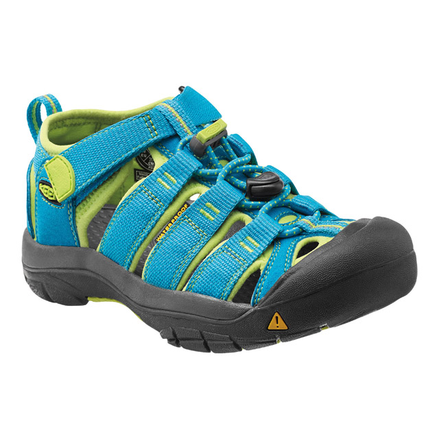 KEEN Newport H2 Jr, hawaiian blue/green glow